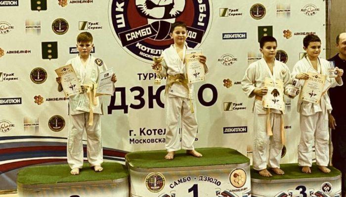 Рождественский турнир по дзюдо в г. Котельники