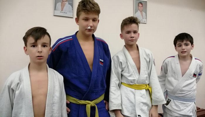 Дзюдоисты жуковского клуба «Отечество-Орбита» приняли участие в учебно-тренировочном сборе
