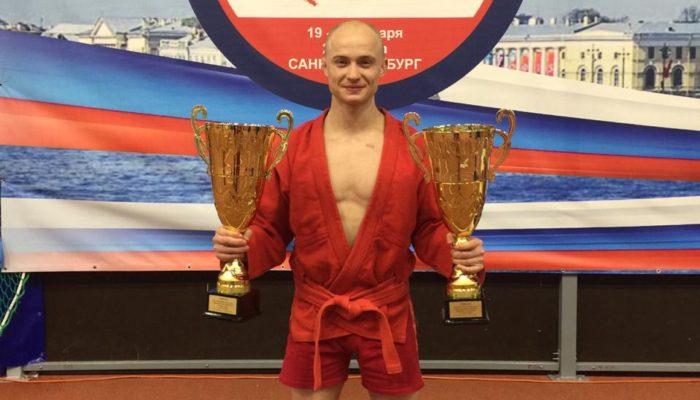 19-24 января в Санкт-Петербурге прошёл чемпионат МВД России по самбо.
